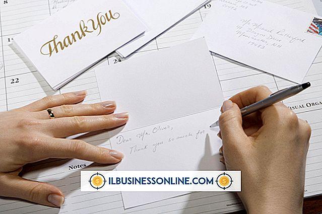 Hvordan man skriver et brev, der genkender en medarbejder