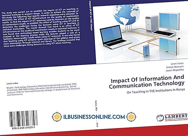 व्यावसायिक संचार पर प्रौद्योगिकी के प्रभाव