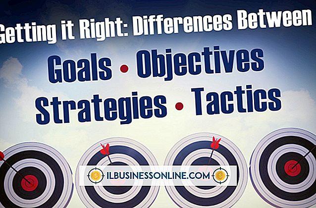 Kategorie Geschäftskommunikation & Etikette: Ziele und Ziele in PR-Kampagnen