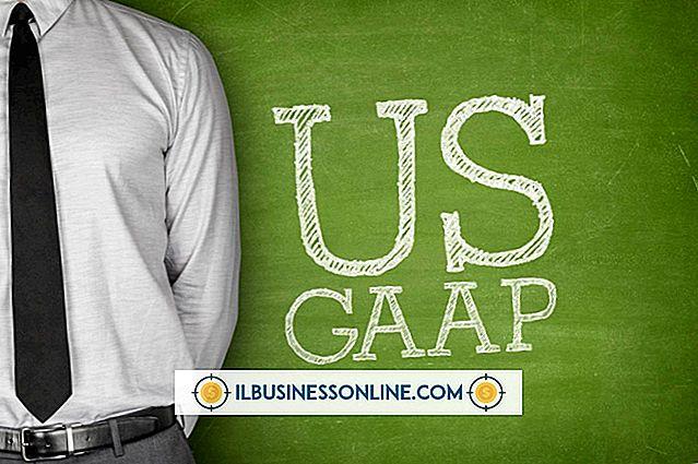 비즈니스 조직에서 GAAP이 중요한 이유