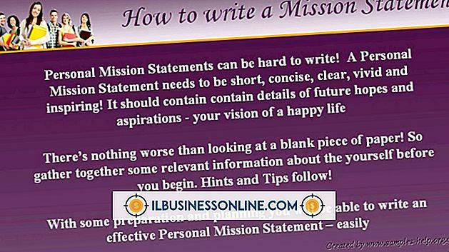 अपने व्यवसाय के लिए एक मिशन स्टेटमेंट कैसे लिखें