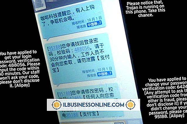 व्यापार संचार और शिष्टाचार - एसएमएस संदेश के प्रकार