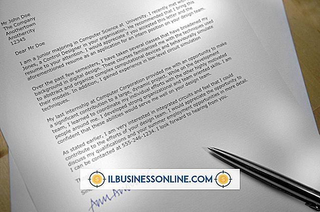 So formatieren Sie einen professionellen Geschäftsbrief in Word