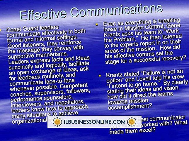 Comunicação E Liderança Eficaz