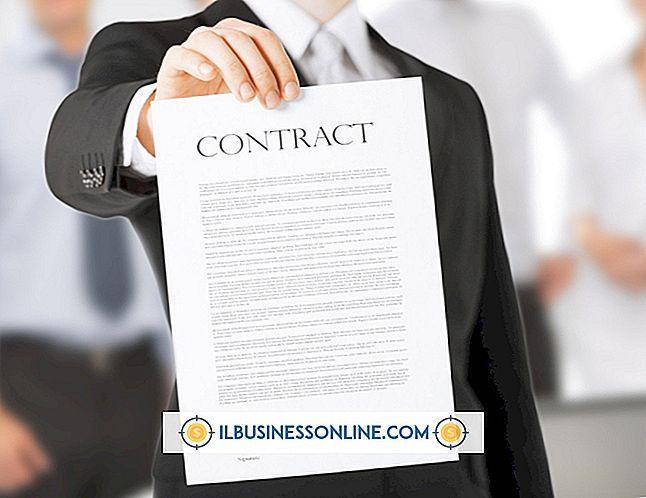 affärskommunikation och etikett - Varför måste de två parterna involvera skriva ett skriftligt affärsavtal?