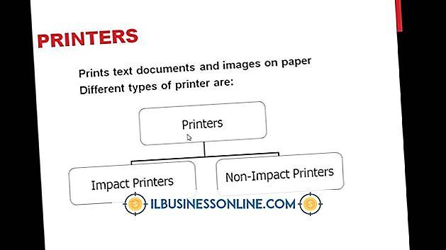 ビジネスモデルと組織構造 - インパクトプリンターの種類