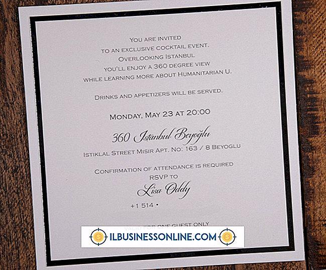 Kategorie Geschäftsmodelle und Organisationsstruktur: Formulierung für eine Corporate Event-Einladung
