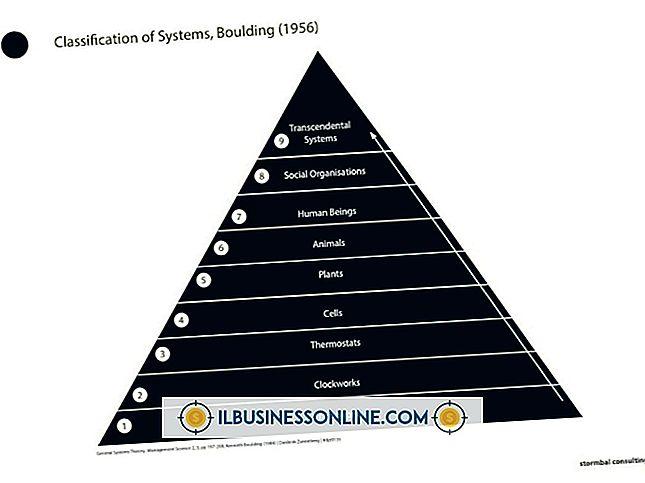 जनरल सिस्टम सिद्धांत और संगठनात्मक संरचना