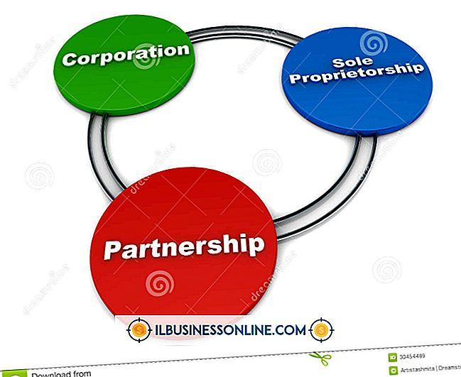 비즈니스 모델 및 조직 구조 - 비즈니스 모델의 유형