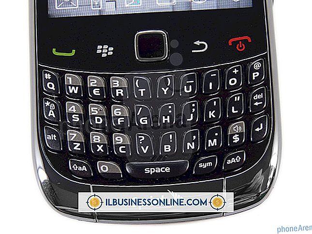 Kategori forretningsmodeller og organisasjonsstruktur: Vanskelighetsgrad med en Blackberry Curve-tastatur