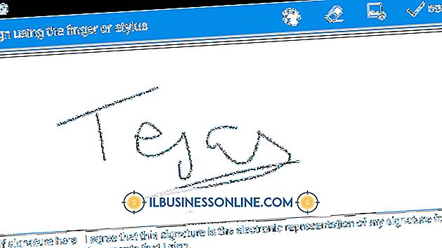 इलेक्ट्रॉनिक हस्ताक्षर के लिए हस्ताक्षर पैड का उपयोग
