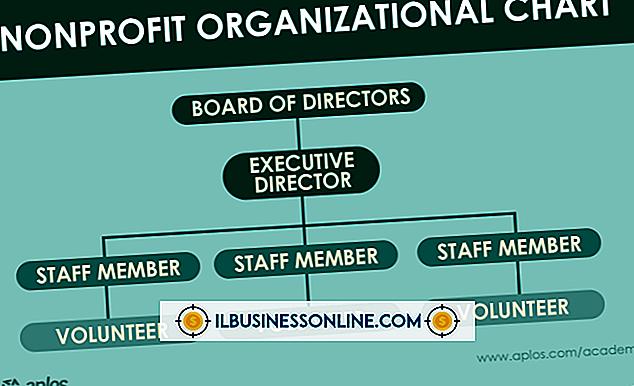 Kategori forretningsmodeller og organisasjonsstruktur: Den typiske ikke-profitt organisasjonsstruktur