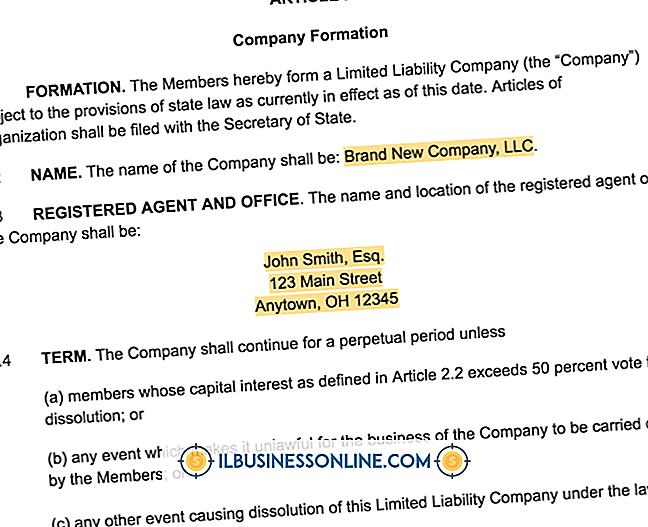 Kategori forretningsmodeller og organisationsstruktur: Sådan skriver du en enkelt medlems operativ aftale