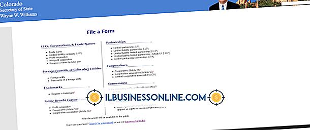 Kategorie Geschäftsmodelle und Organisationsstruktur: Einreichung als LLC
