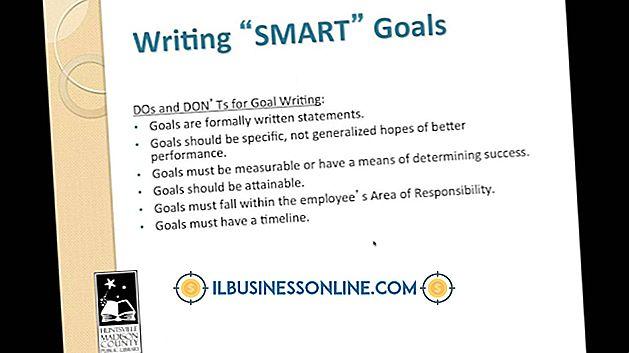 संगठन के लक्ष्यों और उद्देश्यों को लिखना