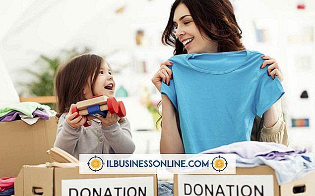 Kategori forretningsmodeller og organisationsstruktur: Hvordan donere en tæppe til en nonprofit organisation for en skattefradrag