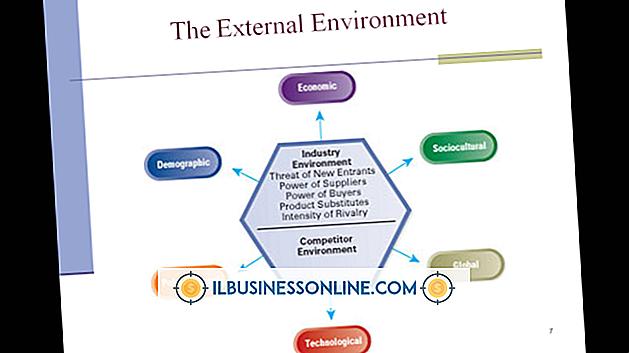 एक संगठन के बाहरी वातावरण के पांच घटक