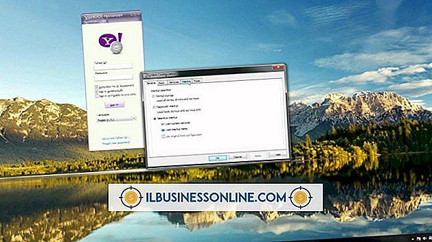 Kategorie Geschäftsmodelle und Organisationsstruktur: Warum ist Yahoo!  IM-Umgebung deaktiviert?