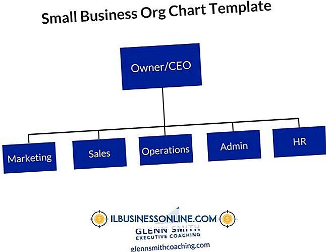 Typische Organisationsstruktur eines Kleinunternehmens