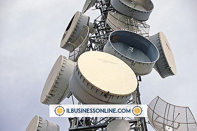 ビジネスモデルと組織構造 - 電気通信におけるアンテナの種類