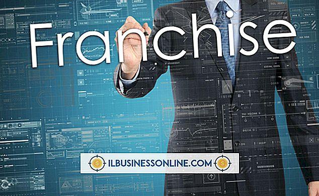 Wie franchise ich ein Unternehmen?