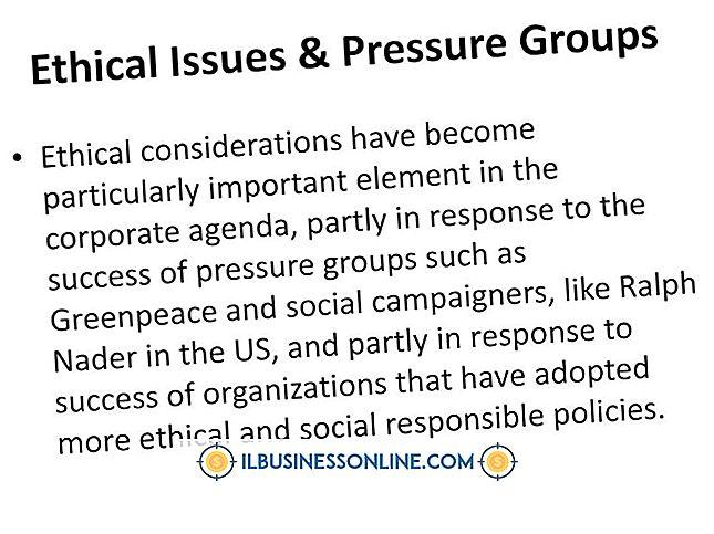 Kategori model bisnis & struktur organisasi: Masalah Etika di Perusahaan Amerika