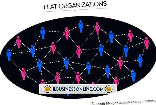 श्रेणी व्यापार मॉडल और संगठनात्मक संरचना: चापलूसी संगठनात्मक संरचना