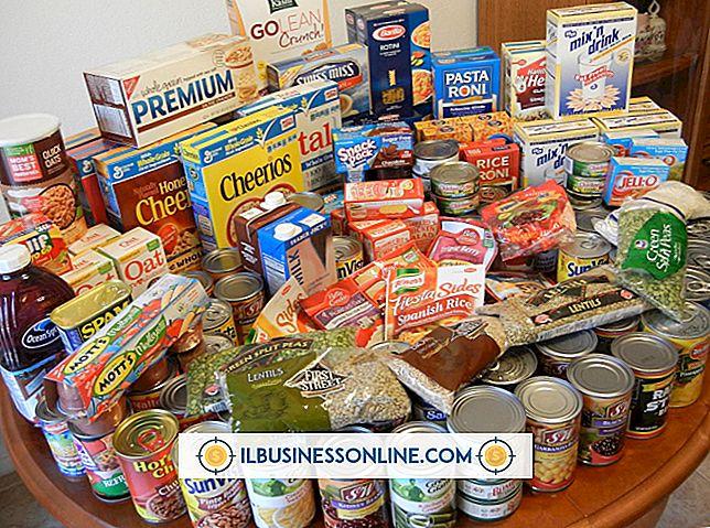 Como obter alimentos doados a organizações sem fins lucrativos