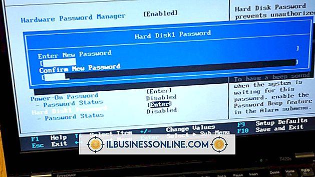 So löschen Sie den Kennwortschutz auf einer ThinkPad-Festplatte