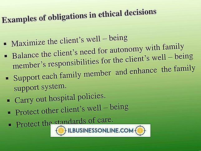 Kategori perencanaan & strategi bisnis: Contoh Membuat Keputusan Etis dalam Bisnis