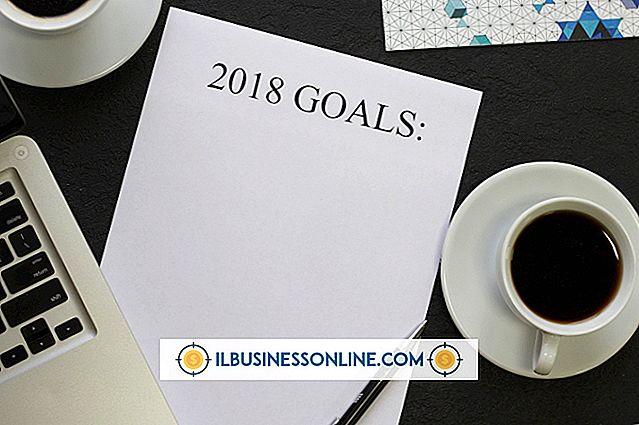 Fünfjahresziele für Unternehmen