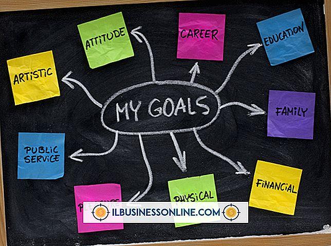 Ejemplos de establecimiento de objetivos de negocio