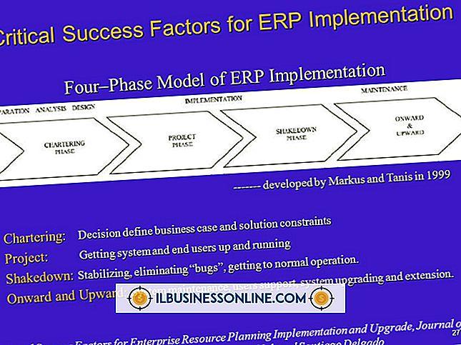 Faktorer for ERP