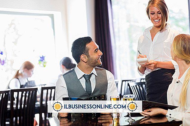 Kategori affärsplanering och strategi: Skriva en resultatplan för en restaurangchef