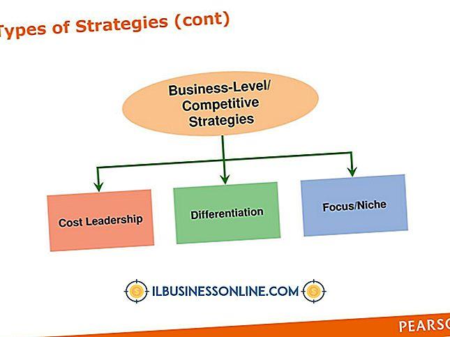 affärsplanering och strategi - Vilka typer av affärsstrategier finns där?