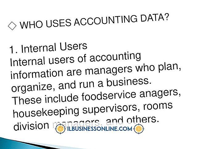 Hvad er måder Regnskabsdata bruges til at foretage forretningsbeslutninger?