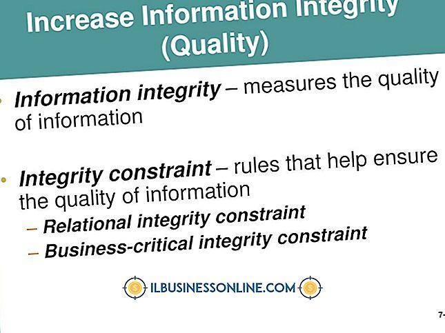Kategori perencanaan & strategi bisnis: Contoh Kendala Integritas Bisnis-Kritis