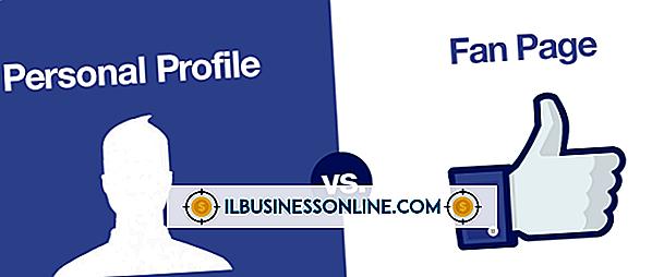 Kategori företagsteknik och kundsupport: Fan sida Vs.  en profil på Facebook