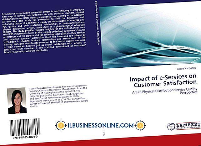O efeito do e-business no atendimento ao cliente