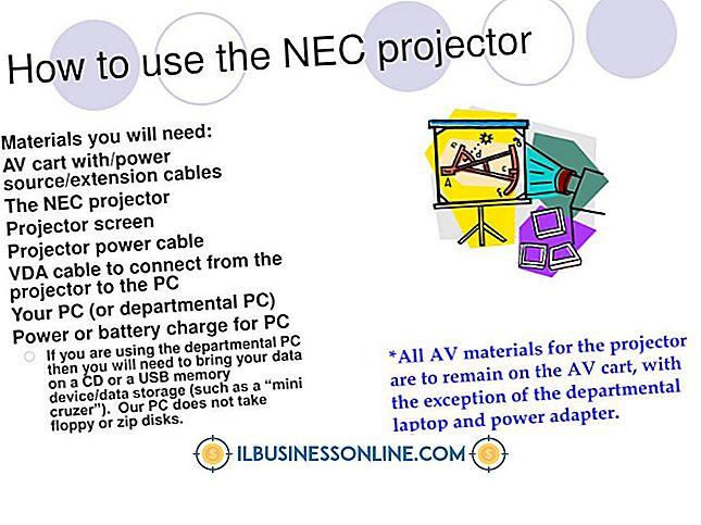 PowerPoint के साथ InFocus प्रोजेक्टर का उपयोग कैसे करें