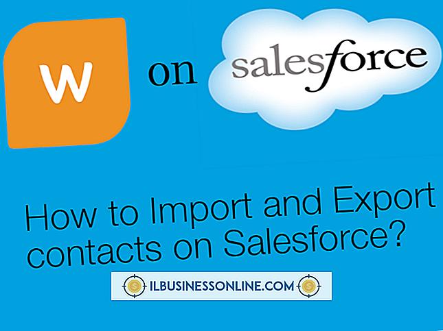 निर्यात Salesforce संपर्क