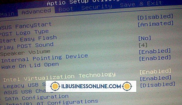Deaktivieren einer integrierten Grafikkarte im BIOS