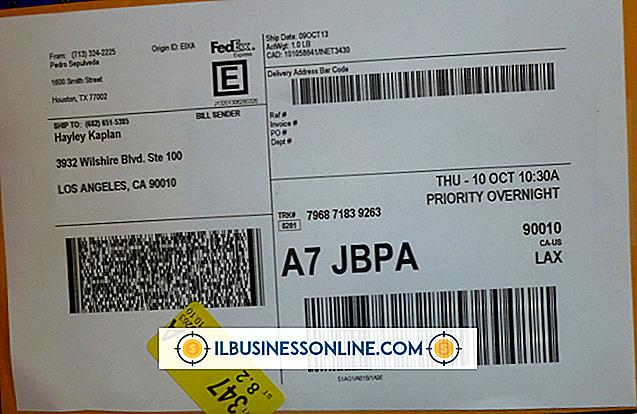 Como atualizar um endereço para a FedEx