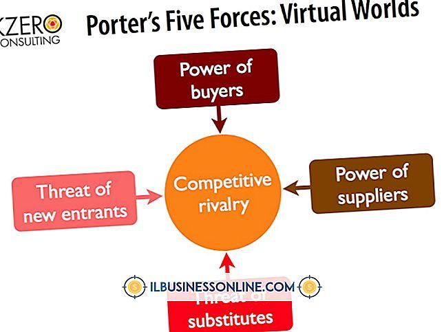 Die fünf Elemente des Porter-Modells für Wettbewerbskräfte