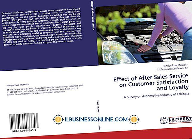 顧客サービスが組織に与える影響