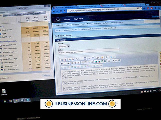 Kategori forretningsteknologi og kundesupport: Årsaker til Computer Freeze Ups