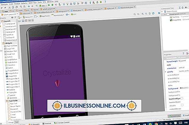 Kategori forretningsteknologi og kundesupport: Sådan viser du Android Programmeringsgrafik