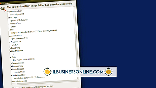 Kategorie Geschäftstechnologie & Kundenbetreuung: Was tun, wenn GIMP abstürzt?