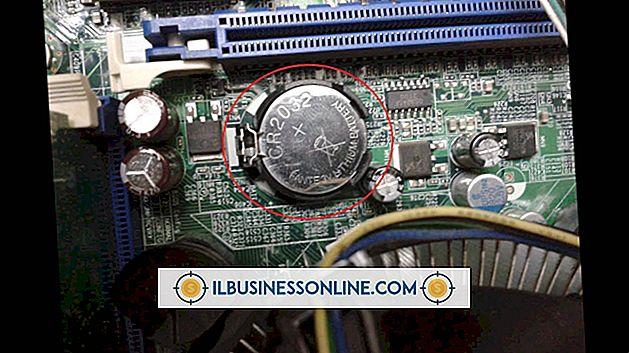 Kategori företagsteknik och kundsupport: Så här kopplar du ur batteriet från ett moderkort på en dator