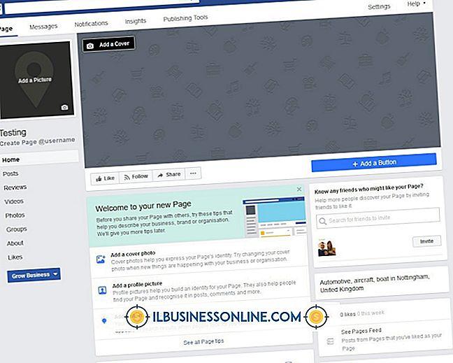 범주 비즈니스 기술 및 고객 지원: Facebook 페이지에 Facebook 페이지 URL을 연결하는 방법